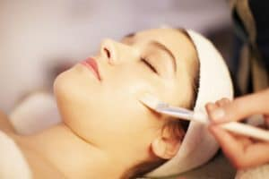 40182061 - facial mask spa treatment